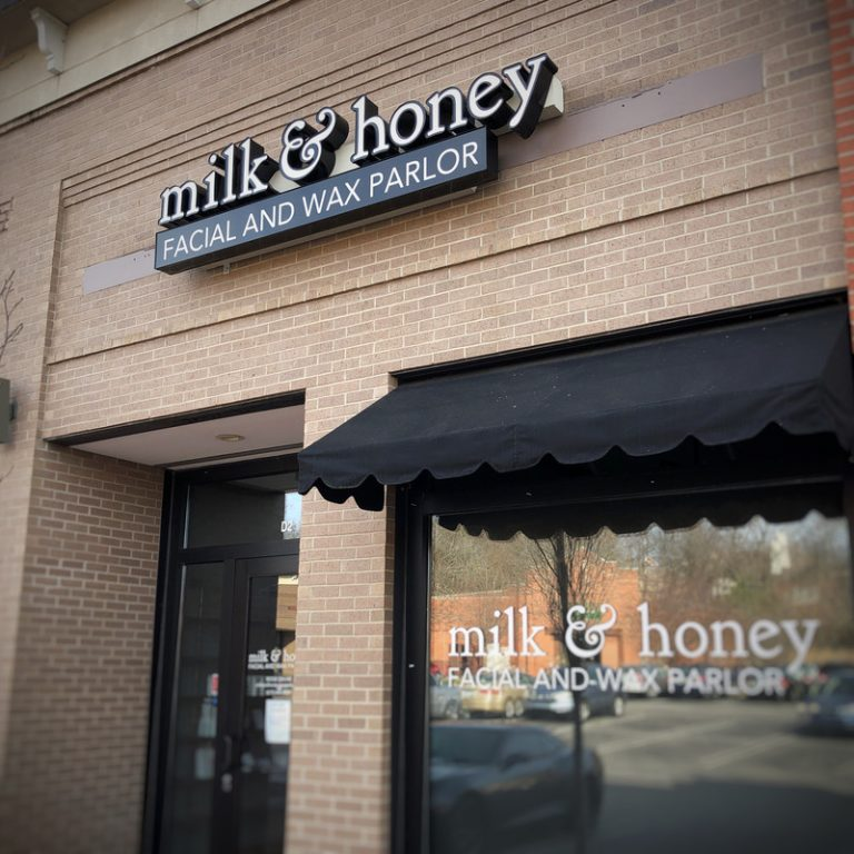 Milk and Honey Facial and Wax Parlor Store Front